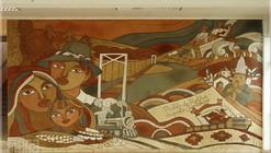 """""""Murales de Tierra en el Maule"""": la visualización del Patrimonio a través de oficios tradicionales"""