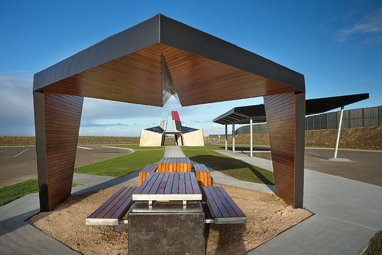 geelong truckstop bkk architects archdaily