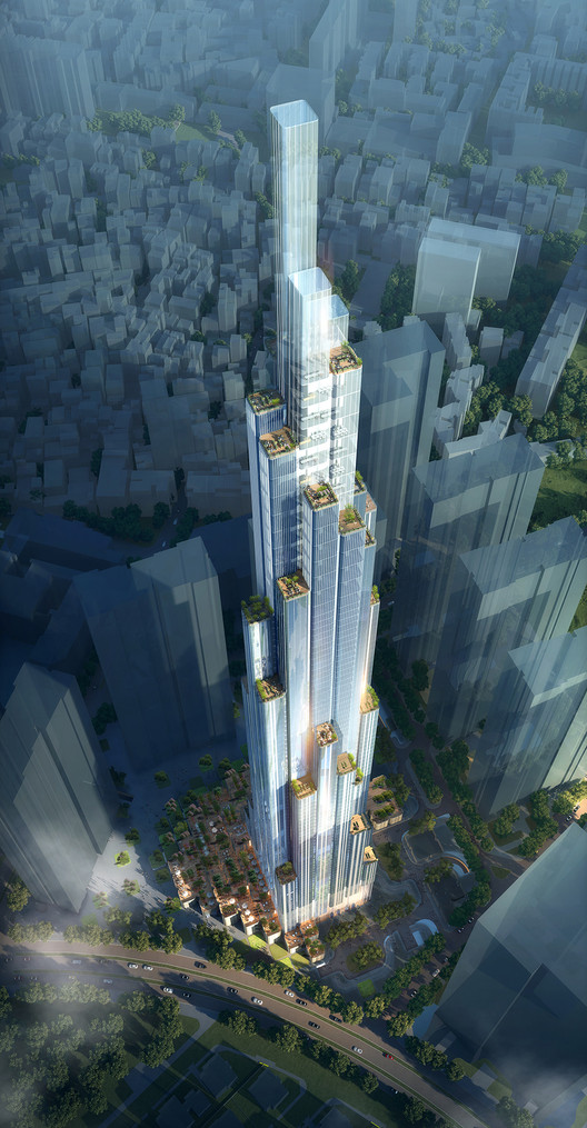 Atkins Begins Work on Vietnam's Tallest Building, © Atkins
