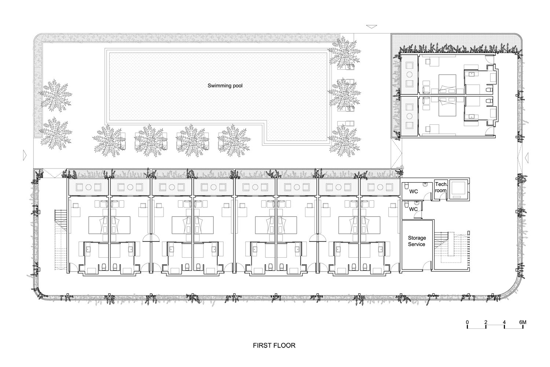 gallery of naman retreat the babylon / vtn architects - 23