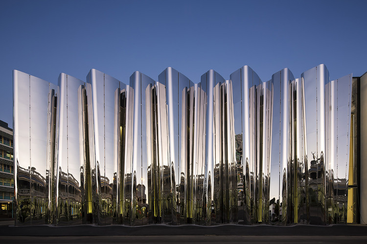 Len Lye Centre  / Patterson Associates, © Patrick Reynolds