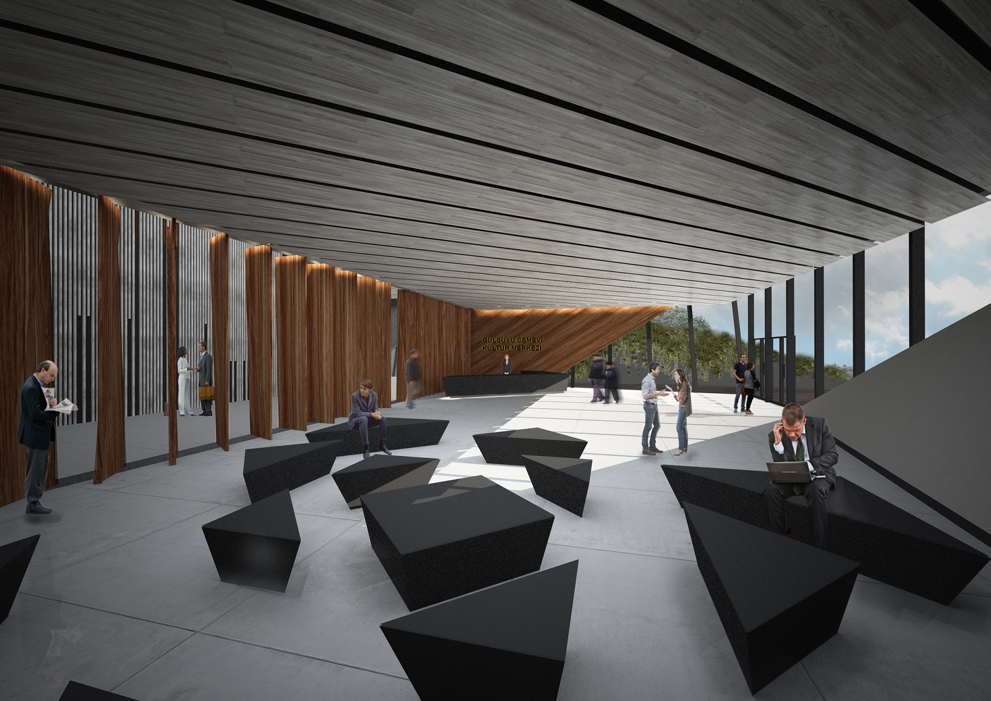 Gallery Of Competition Entry Istanbul Glsuyu Cemevi And