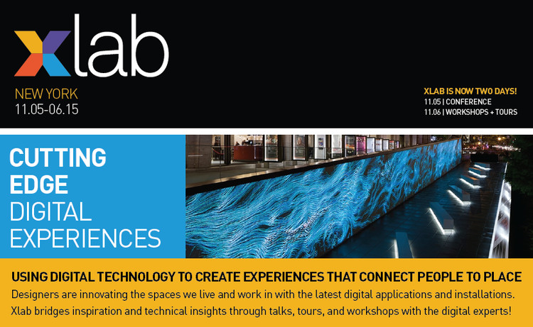 Xlab in New York, Be a part of this exciting conference, 11/5 and 11/6 in NYC!
