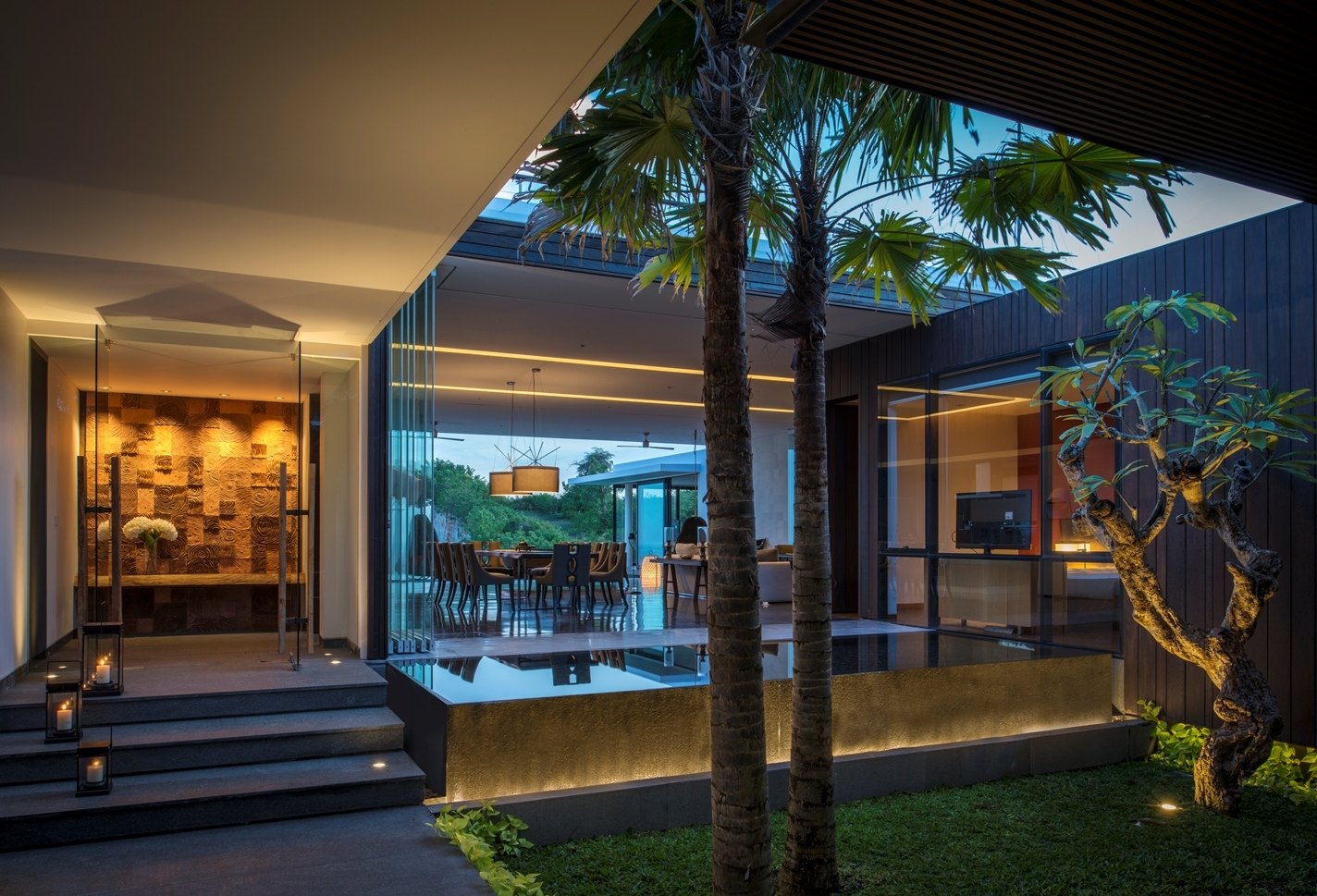 Bali House Plans Tropical Living Gallery Of Villawrk Parametr Architecture 5