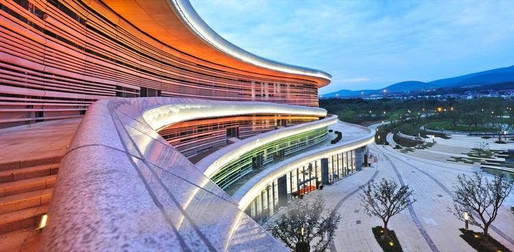 Museo Nacional Fangshan Tangshan Geopark / Studio Odile Decq, © Odile Decq