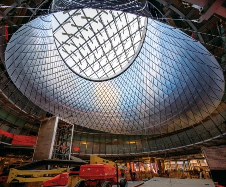 James Carpenter Design Associates, Sky-Reflector Net