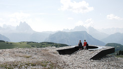 Monte Specie 2305m a.s.l. Lookout / MESSNER Architects
