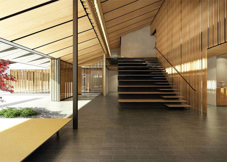 Interior. Imagen © Kengo Kuma & Associates
