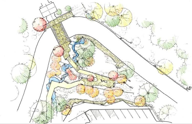 Ruta de Jardín. Imagen © Kengo Kuma & Associates