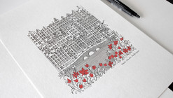Architecture is the Protagonist in These Intricate Illustrations