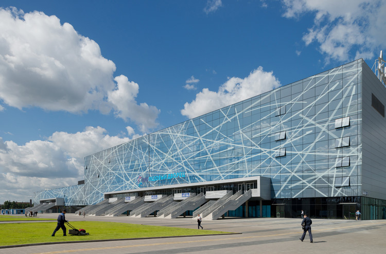 VTB Ice Palace / SPEECH Architectural Office, © Ilya Ivanov