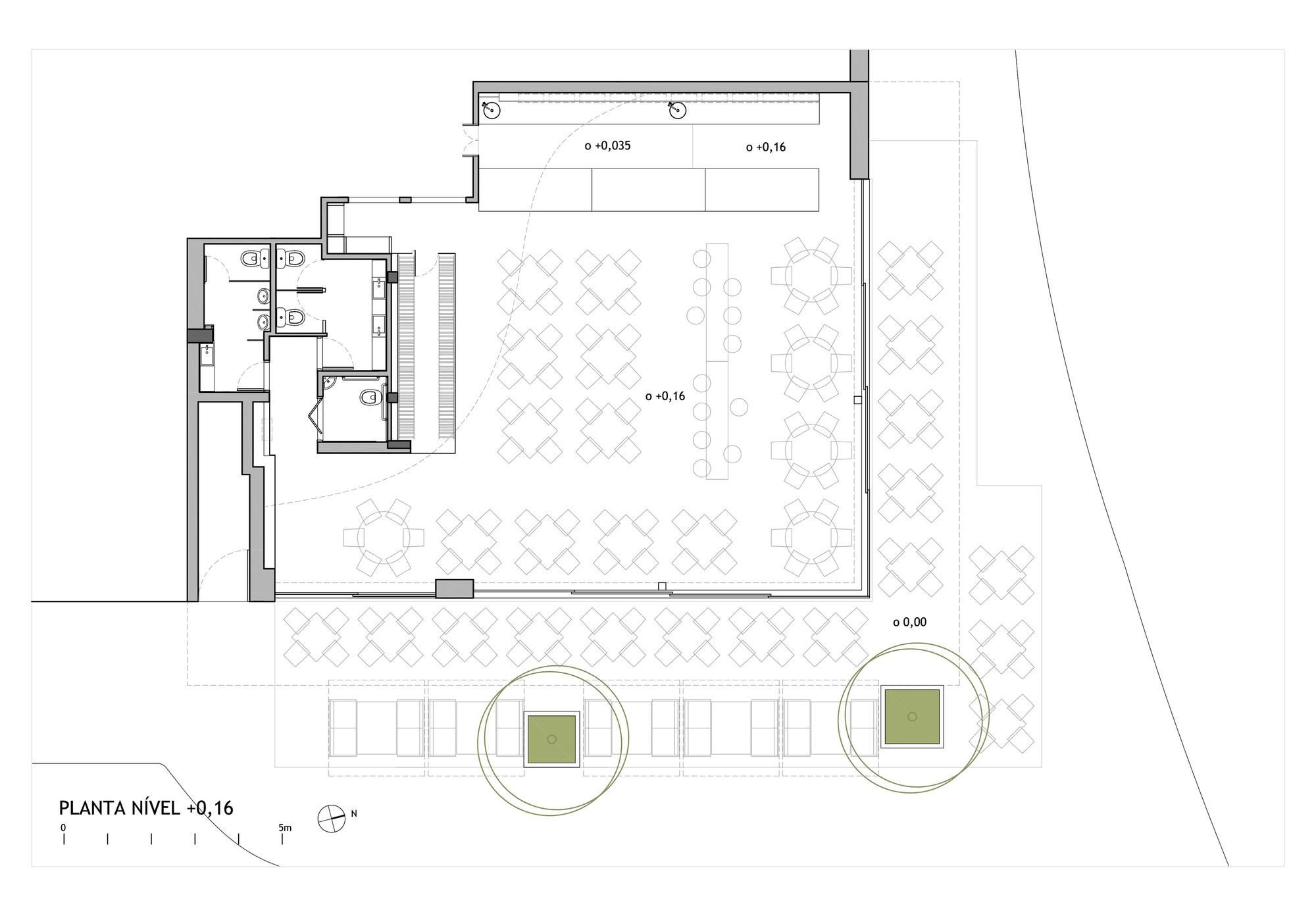 Salon Floor Plan Galeria De Restaurante Olga Nur Arquitetos Associados 9