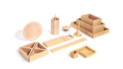End Grain: objetos cotidianos de madera diseñados por Simin Qiu
