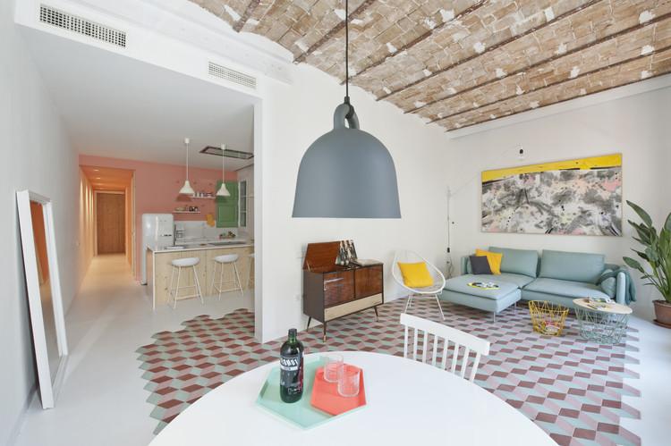 Departamento Tyche / CaSA + Margherita Serboli, © Roberto Ruiz