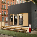 A two-story WikiHouse produced for last year's London Design Festival. Image © Margaux Carron www.margauxcarron.com