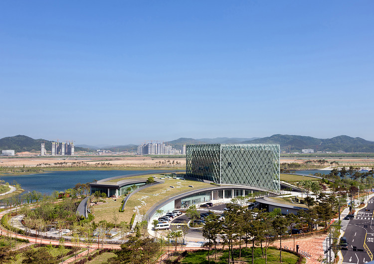 Archivo Presidencial de Corea / Samoo Architects & Engineers, © Young Chae Park