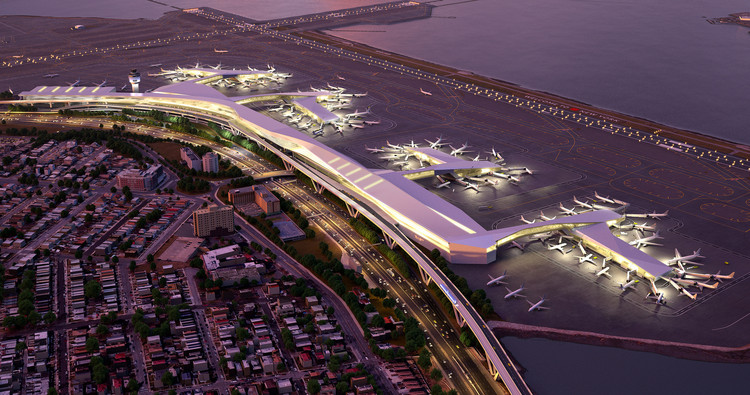 "The New LaGuardia Airport is ""Lackluster and Uninspired"", © Governor Andrew Cuomo"