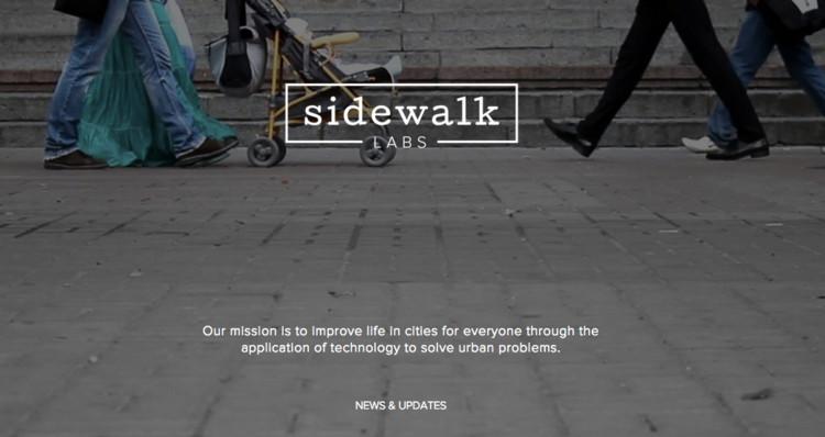 """Google (Alphabet) """"Sidewalk Labs"""" Seeks to Improve City Life, © Sidewalk Labs"""