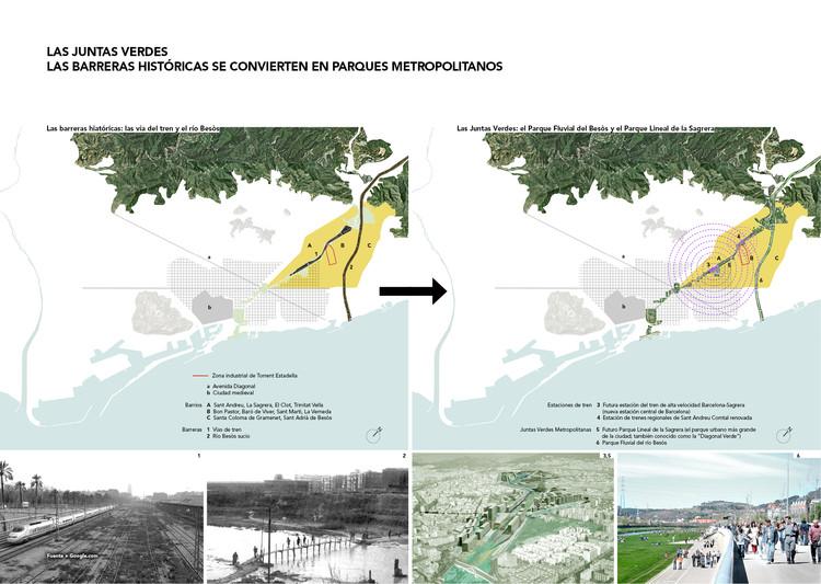 Las barreras históricas se convierten en Parques Metropolitanos
