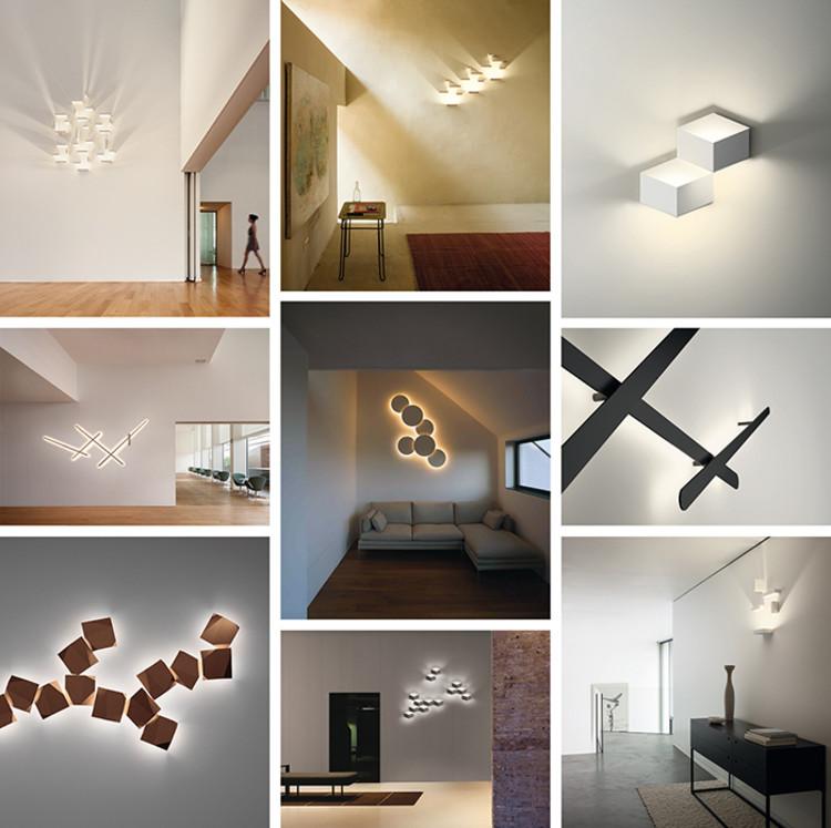 WALL ARTS, 4 luminarias que juegan con luces, sombras y volúmenes, Wall Arts, Vibia. Image Cortesía de VIBIA