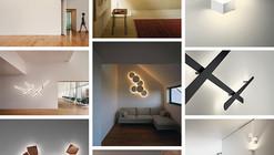 WALL ARTS, 4 luminarias que juegan con luces, sombras y volúmenes