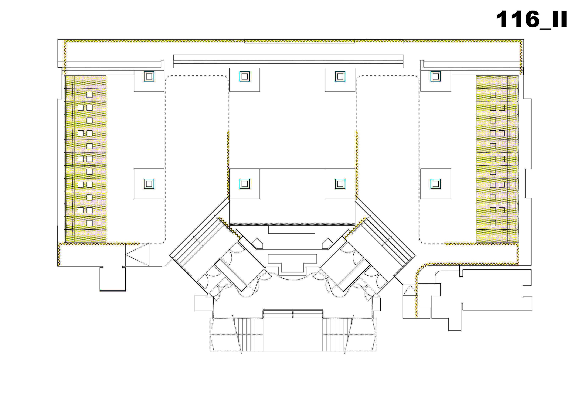 canalla disco vaillo irigaray archdaily floor plan