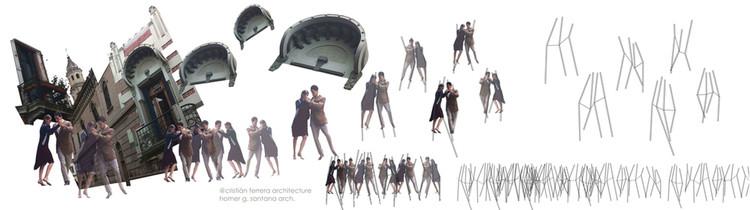 Collage. Image Cortesía de Cristián Ferrera Architecture + Homer García Santana