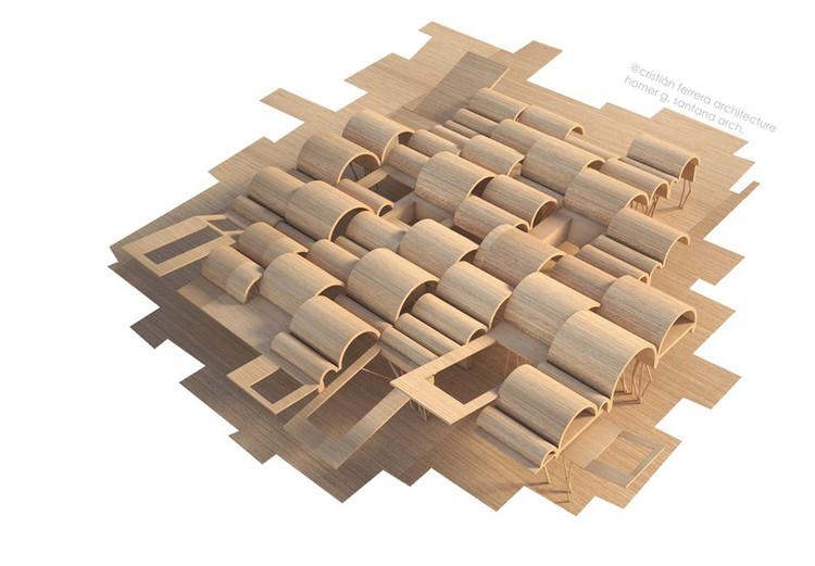 Modelo Digital. Image Cortesía de Cristián Ferrera Architecture + Homer García Santana
