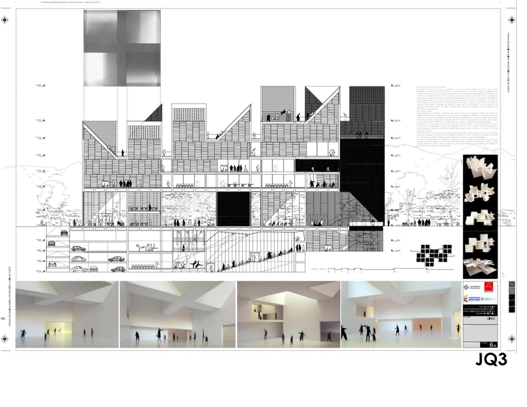 Galer a de mgp primer lugar en for Estudios de arquitectura bogota