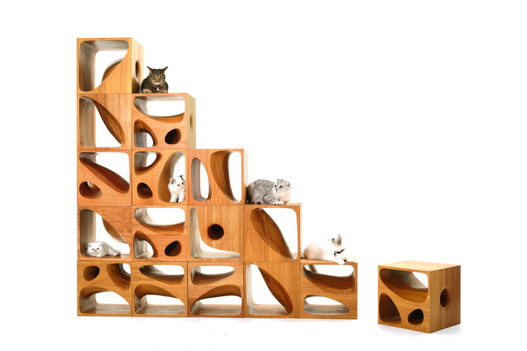 LYCS's Modular CATable 2.0 is Purrfect for Feline Roommates, © LYCS Architecture
