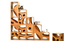 LYCS's Modular CATable 2.0 is Purrfect for Feline Roommates