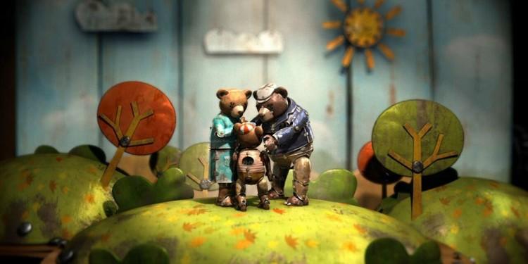 "Cine y Arquitectura: ""Bear Story"" , © Bear Story / Punkrobot"