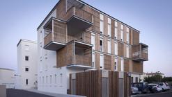 Social Housing in Aigues-Mortes / Thomas Landemaine Architectes
