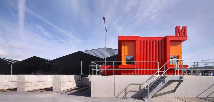 Centro de Reciclaje Milieustraat / Groosman, © Theo Peekstok
