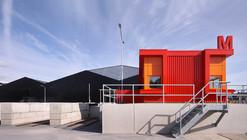 Milieustraat Recycling Centre / Groosman