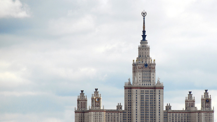 The Legacy of Dictatorial Architecture in our Cities, Moscow State University: one of the 'Seven Sisters'. Image © Tinou Bao