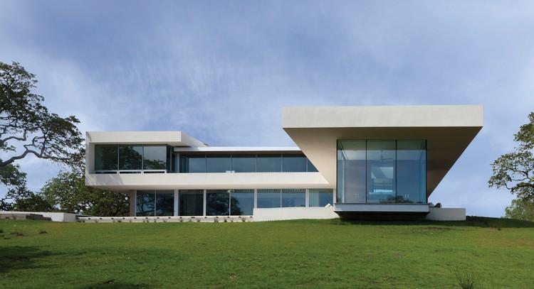 Casa en el viñedo / Swatt Miers Architects, © Russell Abraham
