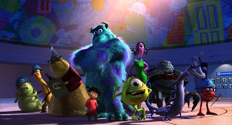 Monsters Inc. cuenta con un elenco increíblemente diverso. Imagen © Pixar