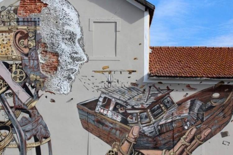 Archivo: Murales Urbanos, © Vhils (vía Facebook)