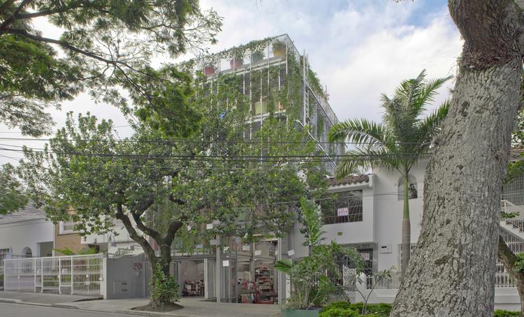 Edificio Jardín Hospedero y Nectarífero  / HUSOS, Cortesía de Husos
