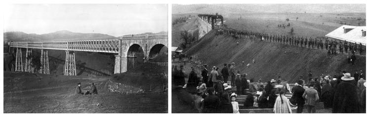 Viaducto en 1890. Image Cortesía de Equipo Segundo Lugar