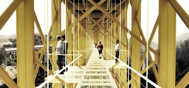 Estación viaducto. Image Cortesía de Equipo Segundo Lugar