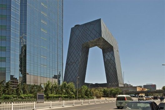 CCTV Headquarters in Beijing by OMA. Image © OMA / Philippe Ruault