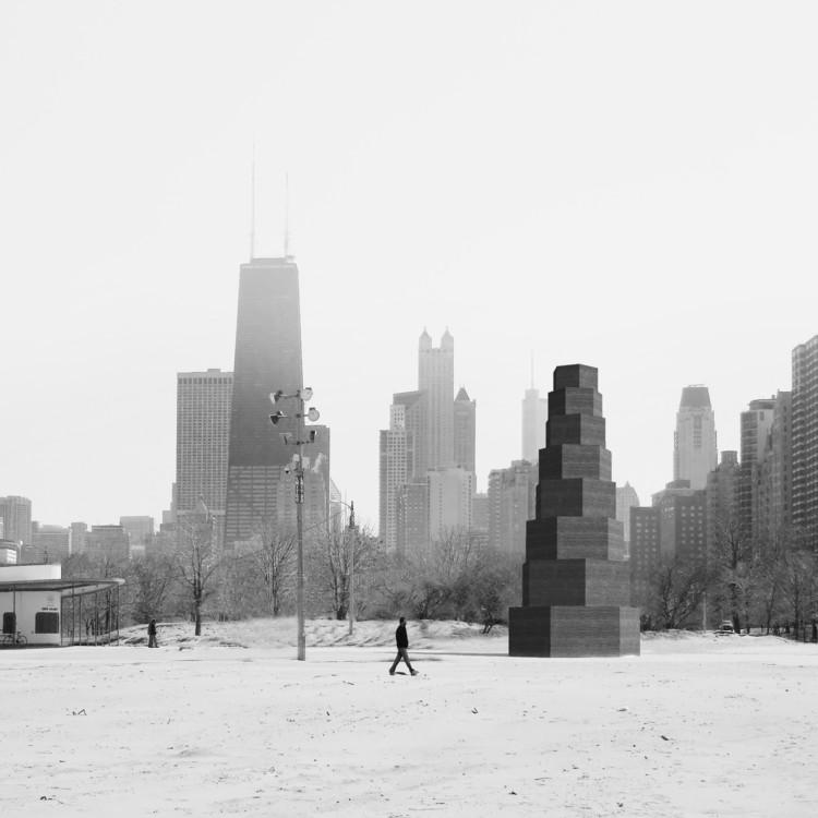 Pezo von Ellrichshausen construirá pabellón para la Bienal de Chicago 2015, Pezo von Ellrichshausen + Illinois Institute of Technology. Image Cortesía de The Chicago Architecture Biennial
