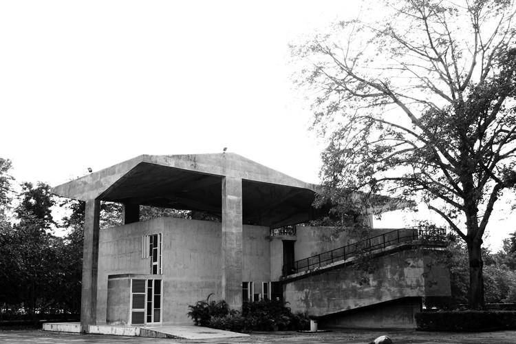 Museo de Arquitectura de Chandigarh. Le Corbusier. Imagen © Fernanda Antonio
