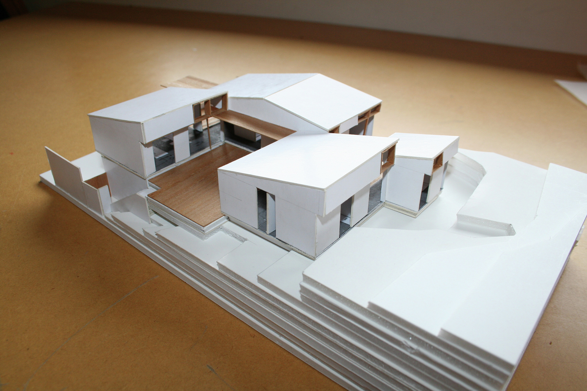 Architecture House Model gallery of offset shed house / irving smith jack architects - 18