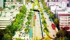FR-EE Proposes to Restore Mexico City Avenue with Cultural Corridor Chapultepec