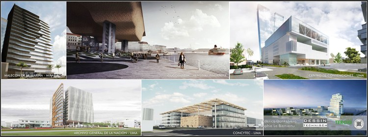Sesión de arquitectura 05: Dessin Technisch / Lima, Cortesía de Tercio Estudiantil FAU-URP