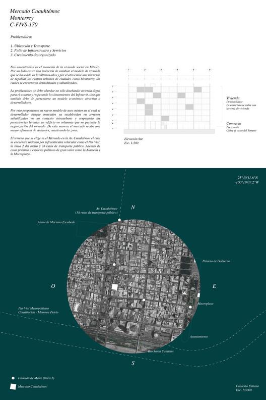 Propuesta segundo lugar / Equipo C-FIVS-170