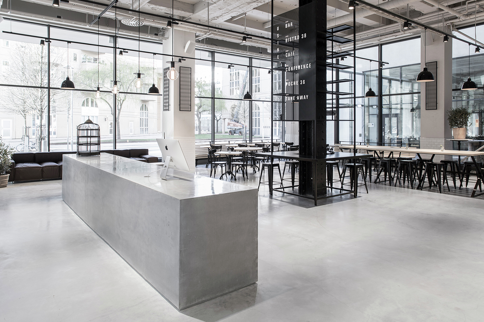 gallery of usine restaurant richard lindvall 16 On architecture usine